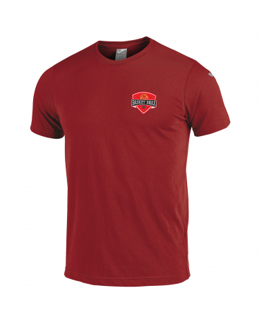 TEE-SHIRT ENFANT COTON ROUGE