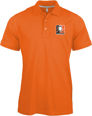 POLO HOMME ORANGE SCM XV