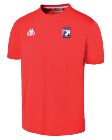 T SHIRT HOMME ROUGE OSGL RUGBY