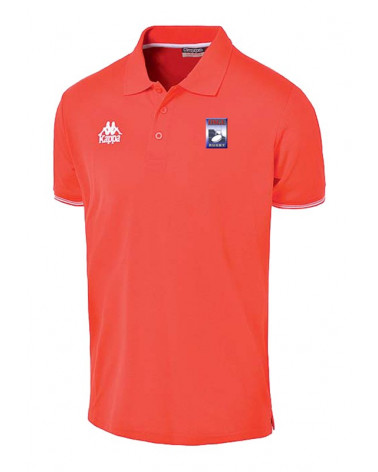 POLO HOMME ROUGE OSGL RUGBY